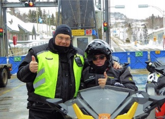 big bore snowmobile vacation canada