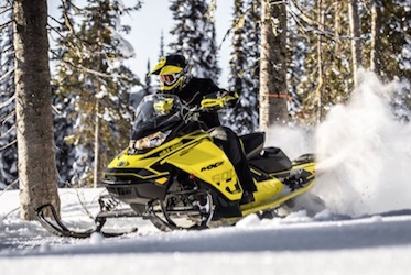 Snowmobiling Gourmet Vacation