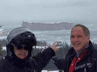 Great Gaspe Snowmobiling Trip
