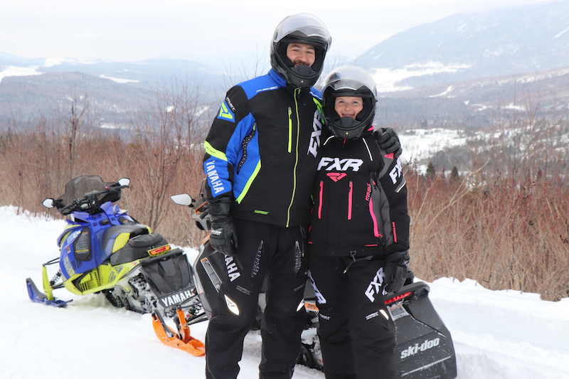 snowmobile adventure quebec